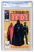 Modern Age (1980-Present):Science Fiction, Star Wars: Return of the Jedi #2 (Marvel, 1983) CGC NM/MT 9.8 Whitepages....