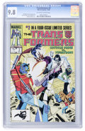 Modern Age (1980-Present):Science Fiction, Transformers #2 (Marvel, 1984) CGC NM/MT 9.8 Off-white to whitepages....