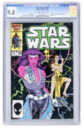 Modern Age (1980-Present):Science Fiction, Star Wars #106 (Marvel, 1986) CGC NM/MT 9.8 Off-white to whitepages....