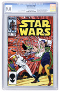 Modern Age (1980-Present):Science Fiction, Star Wars #104 (Marvel, 1986) CGC NM/MT 9.8 Off-white to whitepages....