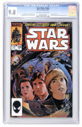Modern Age (1980-Present):Science Fiction, Star Wars #100 (Marvel, 1985) CGC NM/MT 9.8 Off-white to whitepages....