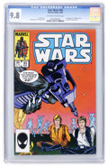 Modern Age (1980-Present):Science Fiction, Star Wars #93 (Marvel, 1985) CGC NM/MT 9.8 Off-white to whitepages....