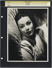 "Dolores del Rio in ""The Man From Dakota"" by Lazlo Willinger (MGM, 1940). Still (11"" X 14"")"