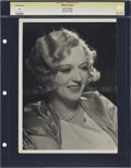 """Movie Posters:Animated, Marion Davies by Clarence Sinclair Bull (MGM, 1930). Still (9.75"""" X13"""").. ..."""