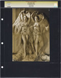 "Movie Posters, The Dodge Twins in ""The March of Time"" by George Hurrell (MGM, 1930). Still (7.75"" X 11"").. ..."