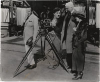 """Charlie Chaplin in """"The Gold Rush"""" Lot (United Artists, 1925). Stills (2) (7.5"""" X 9"""") and (8"""" X..."""