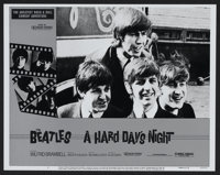 "A Hard Day's Night (Universal, R-1982). Lobby Card Set of 8 (11"" X 14""). Rock and Roll. ... (Total: 8 Items)"