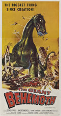 "Movie Posters:Science Fiction, The Giant Behemoth (Allied Artists, 1959). Three Sheet (41"" X81"").. ..."