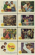 """Movie Posters:Drama, Duel in the Sun (United Artists, 1947). Lobby Card Set of 8 (11"""" X14"""").. ... (Total: 8 Items)"""