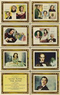 "Movie Posters:Romance, Gone with the Wind (MGM, 1939). Roadshow Lobby Card Set of 8 (11"" X14"").. ... (Total: 8 Items)"