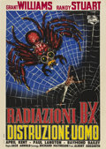 "Movie Posters:Horror, The Incredible Shrinking Man (Universal International, 1957).Italian 2 - Folio (39"" X 55"").. ..."