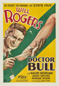 "Movie Posters:Comedy, Doctor Bull (Fox, 1933). One Sheet (27"" X 41"").. ..."