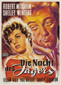 "Movie Posters:Film Noir, The Night of the Hunter (United Artists, 1955). German A1 (23"" X33"").. ..."