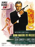 "Movie Posters:James Bond, From Russia with Love (United Artists, 1964). French Grande (47"" X63"").. ..."