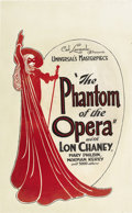 "Movie Posters:Horror, The Phantom of the Opera (Universal, 1925). Window Card (14"" X22"").. ..."