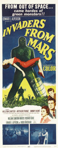 "Movie Posters:Science Fiction, Invaders from Mars (20th Century Fox, 1953). Insert (14"" X 36"").. ..."