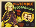 "Movie Posters:Musical, Stowaway (20th Century Fox, 1936). Title Lobby Card and Lobby Cards(4) (11"" X 14"").. ... (Total: 5 Items)"