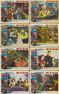 "Movie Posters:Adventure, Reap the Wild Wind (Paramount, 1942). Lobby Card Set of 8 (11"" X14"").. ... (Total: 8 Items)"