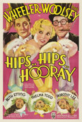 """Movie Posters:Comedy, Hips, Hips, Hooray (RKO, 1934). One Sheet (27"""" X 41"""").. ..."""