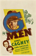 "Movie Posters:Crime, G-Men (First National, 1935). Window Card (14"" X 22"").. ..."