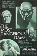 "Movie Posters:Thriller, The Most Dangerous Game (RKO, 1932). Pressbook (12"" X 18"")(Multiple Pages).. ..."
