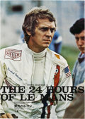 """Movie Posters:Sports, Le Mans (Towa, 1971). Japanese B2 (20"""" X 29"""").. ..."""