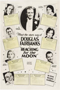 """Movie Posters:Comedy, Reaching for the Moon (United Artists, 1930). One Sheet (28"""" X42"""").. ..."""