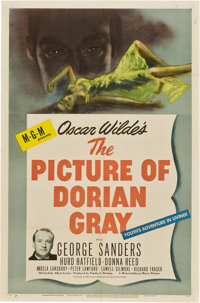"""The Picture of Dorian Gray (MGM, 1945). One Sheet (27"""" X 41"""")"""