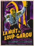 """Movie Posters:Horror, Curse of the Werewolf (Universal International, 1961). French Petite (22.5"""" X 30.5"""").. ..."""