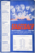 "Movie Posters:Western, Stagecoach (United Artists, 1939). Pressbook (12"" X 18"") (MultiplePages).. ..."