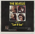 "Movie Posters:Rock and Roll, Let It Be (United Artists, 1970). Six Sheet (81"" X 81"").. ..."