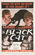 "Movie Posters:Horror, The Black Cat (Universal, 1934). Pressbook (11.5"" X 18"").. ..."