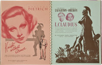 """United Artists Exhibitor Book (United Artists, 1936-37). Exhibitor Book (9"""" X 12"""") (Multiple Pages)"""