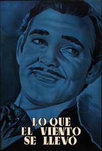 """Gone with the Wind (MGM, 1939). Spanish One Sheets (2) (26.5"""" X 39.5""""). ... (Total: 2 Items)"""