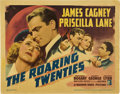 "Movie Posters:Crime, The Roaring Twenties (Warner Brothers, 1939). Title Lobby Card (11""X 14"").. ..."
