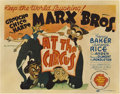 "Movie Posters:Comedy, At The Circus (MGM, 1939). Title Lobby Card (11"" X 14"").. ..."