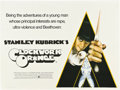 "Movie Posters:Science Fiction, A Clockwork Orange (Warner Brothers, 1971). British Quad (30"" X 40"").. ..."