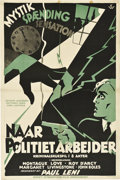 "Movie Posters:Crime, Last Warning (Universal, 1929). Danish Poster (23"" X 35"").. ..."