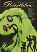 "Movie Posters:Drama, A Very Private Affair (MGM, 1962). East German A1 (23"" X 33"").. ..."