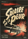 "Movie Posters:Thriller, Wages of Fear (Cinedis, 1953). French Affiche (23.5"" X 31.5"").. ..."