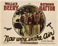 """Movie Posters:Comedy, Now We're in the Air (Paramount, 1927). Lobby Card (11"""" X 14"""").. ..."""