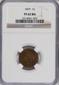 Proof Indian Cents: , 1879 1C PR62 Brown NGC. NGC Census: (4/73). PCGS Population (2/38). Mintage: 3,200. Numismedia Wsl. Price for NGC/PCGS coin...