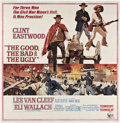 "Movie Posters:Western, The Good, The Bad and the Ugly (United Artists, 1968). Six Sheet (81"" X 81"").. ..."