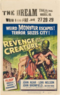 "Movie Posters:Science Fiction, Revenge of the Creature (Universal International, 1955). WindowCard (14"" X 22"").. ..."