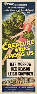 "Movie Posters:Science Fiction, The Creature Walks Among Us (Universal International, 1956). Insert(14"" X 36"").. ..."