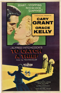 "To Catch a Thief (Paramount, 1955). Poster (40"" X 60"")"