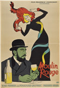 "Movie Posters:Drama, Moulin Rouge (United Artists, 1957). Polish One Sheet (23"" X 33"")....."