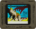 """Movie Posters:Crime, The Canary Murder Case (Paramount, 1929). Glass Slide (4"""" X 3.5"""")....."""