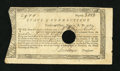 Colonial Notes:Connecticut, Connecticut Treasury-Office £9, 8 Shillings June 1, 1782 Very Fine....