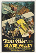 "Movie Posters:Western, Silver Valley (Fox, 1927). One Sheet (27"" X 41"").. ..."